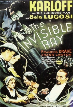 The Invisible Ray - Movie Poster (thumbnail)
