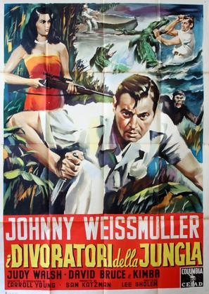 Cannibal Attack - Italian Movie Poster (thumbnail)