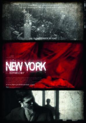 New York November - Austrian Movie Poster (thumbnail)