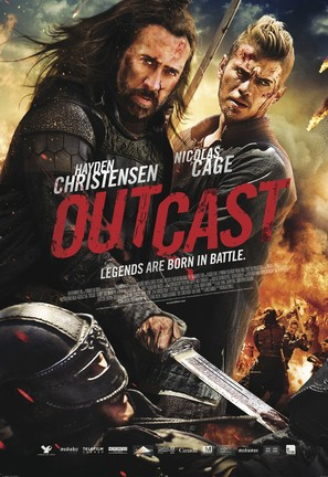 Outcast - Canadian Movie Poster (thumbnail)