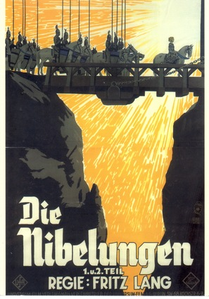 Die Nibelungen: Siegfried - German Movie Poster (thumbnail)