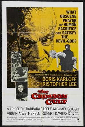 Curse of the Crimson Altar - Movie Poster (thumbnail)