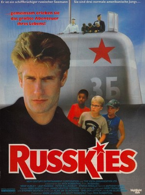 Russkies - German Movie Poster (thumbnail)