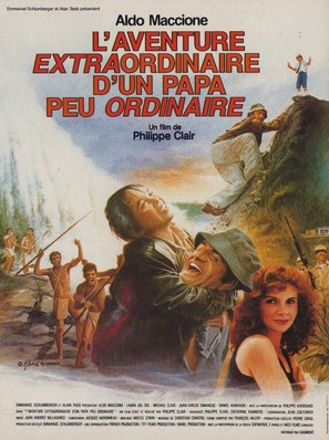 L'aventure extraordinaire d'un papa peu ordinaire - French Movie Poster (thumbnail)