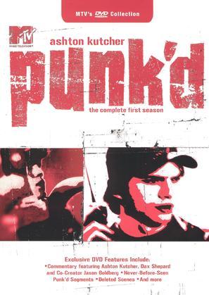 """Punk'd"" - DVD movie cover (thumbnail)"