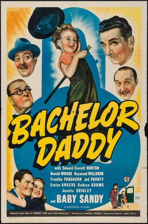 Bachelor Daddy - Movie Poster (thumbnail)