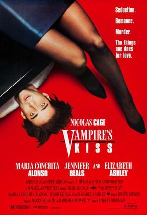 Vampire's Kiss - Movie Poster (thumbnail)