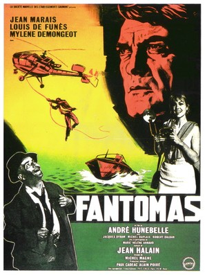 Fantômas - French Movie Poster (thumbnail)