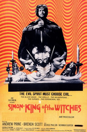 Simon, King of the Witches - Movie Poster (thumbnail)