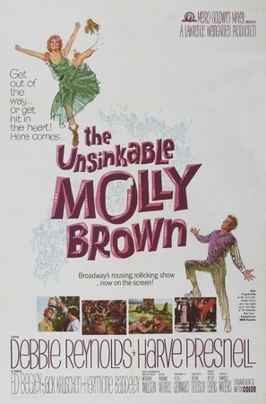 The Unsinkable Molly Brown - Movie Poster (thumbnail)