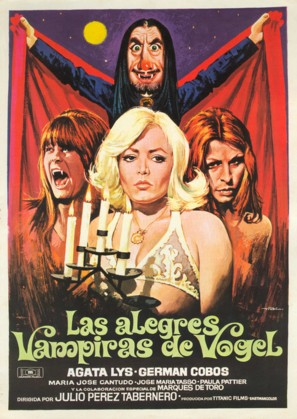 Las alegres vampiras de Vögel - Spanish Movie Poster (thumbnail)