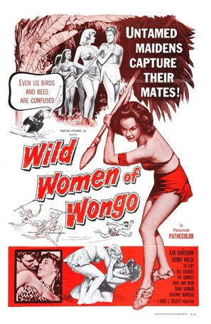 The Wild Women of Wongo - Movie Poster (thumbnail)