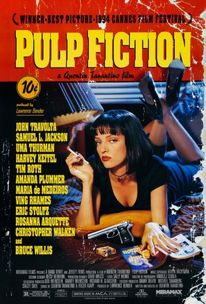Pulp Fiction - Theatrical poster (thumbnail)