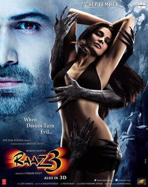 Raaz 3: The Third Dimension - Indian Movie Poster (thumbnail)