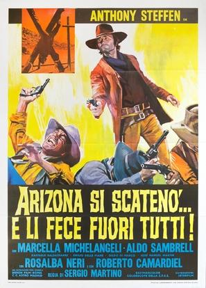 Arizona si scatenò... e li fece fuori tutti - Italian Movie Poster (thumbnail)