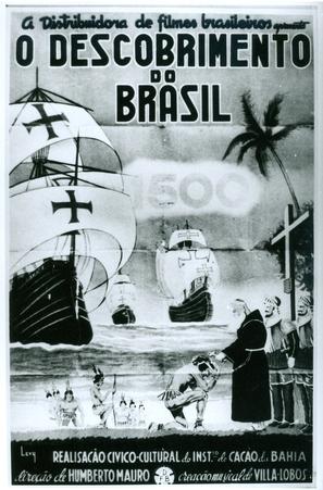 O Descobrimento do Brasil - Brazilian Movie Poster (thumbnail)