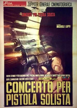 Concerto per pistola solista - Italian Movie Poster (thumbnail)