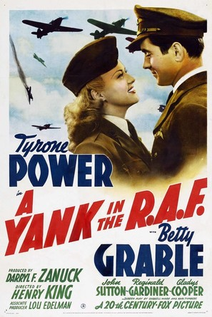 A Yank in the R.A.F. - Movie Poster (thumbnail)