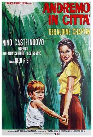 Andremo in città - Italian Movie Poster (thumbnail)