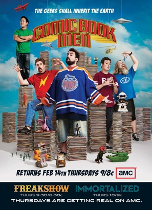 """Comic Book Men"" - Movie Poster (thumbnail)"