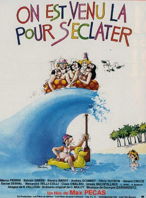 On est venu là pour s'éclater - French Movie Poster (thumbnail)