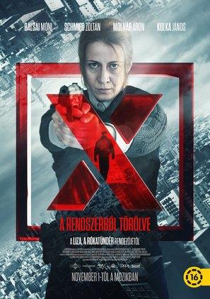 X. - Hungarian Movie Poster (thumbnail)