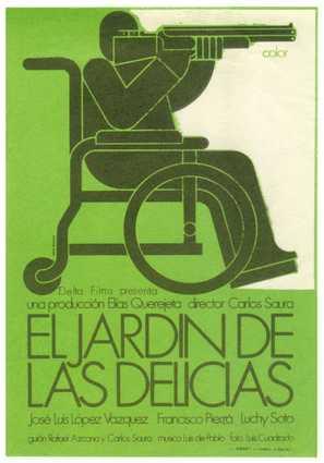 Jardín de las delicias, El - Spanish Movie Poster (thumbnail)