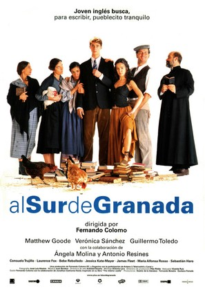 Al sur de Granada - Spanish Movie Poster (thumbnail)