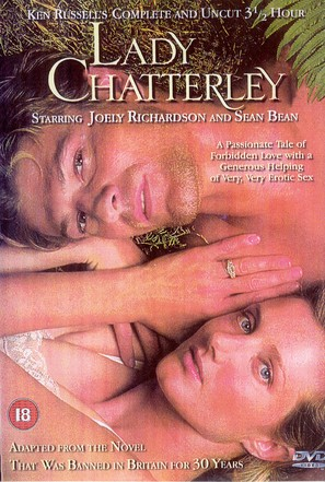 """Lady Chatterley"" - British DVD cover (thumbnail)"
