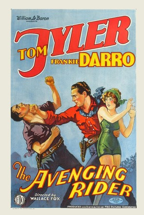 The Avenging Rider - Movie Poster (thumbnail)