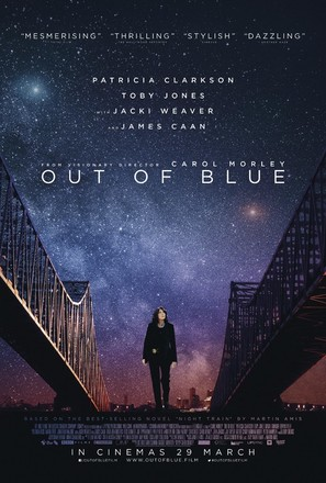 Out of Blue - British Movie Poster (thumbnail)