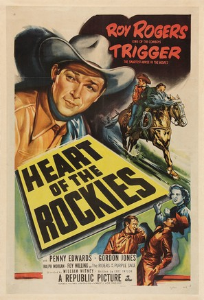 Heart of the Rockies - Movie Poster (thumbnail)