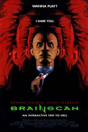 Brainscan - Movie Poster (thumbnail)
