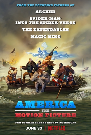 America: The Motion Picture - Movie Poster (thumbnail)