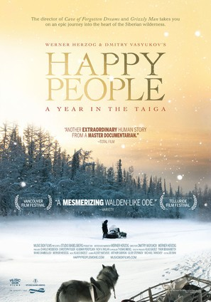 Happy People: A Year in the Taiga - Movie Poster (thumbnail)