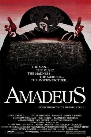 Amadeus - Movie Poster (thumbnail)