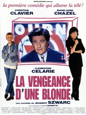 La vengeance d'une blonde - French Movie Poster (thumbnail)