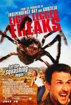 Eight Legged Freaks - Movie Poster (thumbnail)