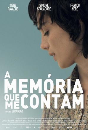 A Memória que me Contam - Brazilian Movie Poster (thumbnail)