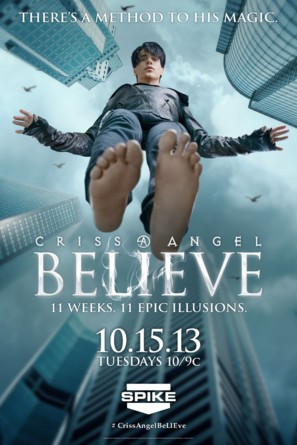 """""""Criss Angel Believe"""" - Movie Poster (thumbnail)"""