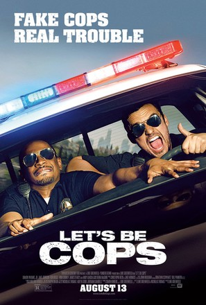 Let's Be Cops - Theatrical movie poster (thumbnail)