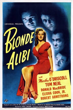 Blonde Alibi - Movie Poster (thumbnail)