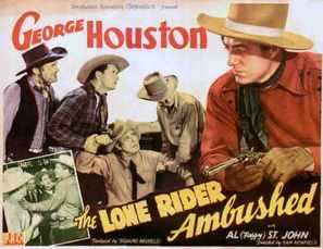 The Lone Rider Ambushed - Movie Poster (thumbnail)