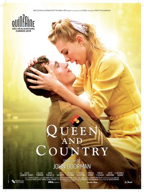 Queen and Country - French Movie Poster (thumbnail)