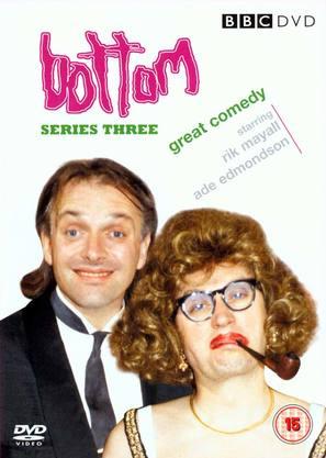 """Bottom"" - British DVD movie cover (thumbnail)"