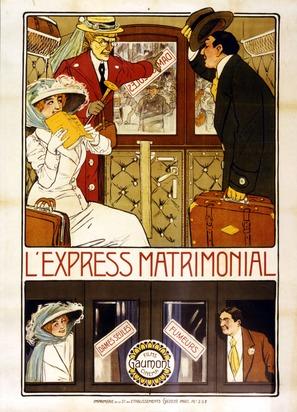 L'express matrimonial - French Movie Poster (thumbnail)