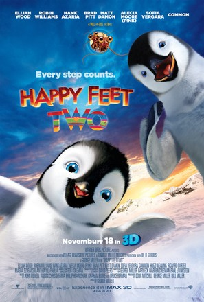 Happy Feet Two - Movie Poster (thumbnail)