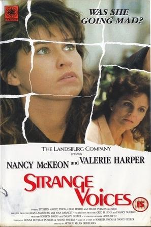 Strange Voices - British DVD movie cover (thumbnail)