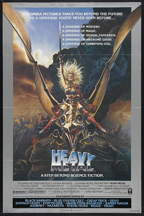 Heavy Metal - Theatrical poster (thumbnail)