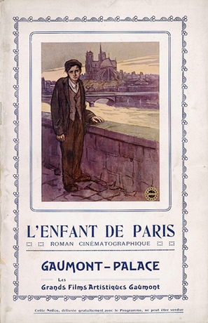 L'enfant de Paris - French poster (thumbnail)